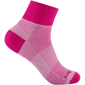 Wrightsock Coolmesh II Quarter Calze, beet root